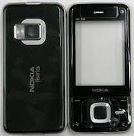 Корпус ААА Nokia N81 (чёрный)+русская клавиатура