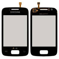 Сенсорный экран для мобильного телефона Samsung S6102 Galaxy Y Duos, черный