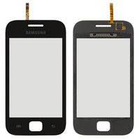 Сенсорный экран для мобильных телефонов Samsung S6352, S6802, черный