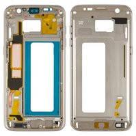 Средняя часть корпуса для мобильного телефона Samsung G935F Galaxy S7 EDGE, золотистая