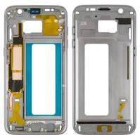 Средняя часть корпуса для мобильного телефона Samsung G935F Galaxy S7 EDGE, черная
