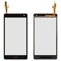 Сенсорный экран для мобильных телефонов HTC Desire 600 Dual sim, Desire 606w, черный