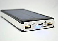 Power Bank Solar P-20000 mAh внешний аккумулятор, батарея, Повер банк