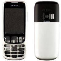 Корпус для мобильных телефонов Nokia 6303, 6303i, high-copy, серебристый