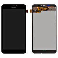 Дисплей для мобильного телефона Microsoft (Nokia) 640 XL Lumia Dual SIM, черный, с сенсорным экраном