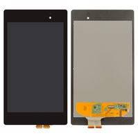 Дисплей для планшетов Asus MeMO Pad 7 ME572C, Nexus 7 google NEW (2Gen), черный, с сенсорным экраном