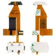 Шлейф для мобильного телефона Nokia 6700s, copy, межплатный, с компонентами, с камерой, с верхним клавиатурным модулем