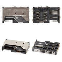 Коннектор SIM-карты, на две SIM-карты, тип 2