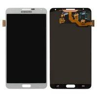 Дисплей для мобильных телефонов Samsung N900 Note 3, N9000 Note 3, N9005 Note 3, N9006 Note 3, белый, с сенсорным экраном, original (PRC)