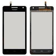 Сенсорный экран для мобильных телефонов Huawei U8950 Honor+ Ascend G600, U9508 Honor 2, черный