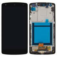 Дисплей для мобильных телефонов LG D820 Nexus 5 Google, D821 Nexus 5 Google, черный, с передней панелью, с сенсорным экраном, original (PRC)