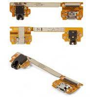 Шлейф для планшета Asus Nexus 7 google, коннектора зарядки, коннектора наушников, с компонентами