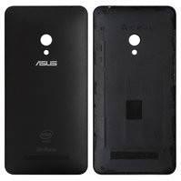 Задняя панель корпуса Asus ZenFone 5 (A501CG), черная, с боковыми кнопками