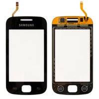 Сенсорный экран для мобильного телефона Samsung S5660, черный