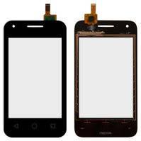 Сенсорный экран для мобильного телефона Alcatel One Touch 4009D Dual Sim, черный