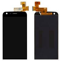 Дисплей для мобильных телефонов LG G5 H820, G5 H830, G5 H850, G5 LS992, G5 SE H840, G5 SE H845, G5 US992, G5 VS987, черный, с сенсорным экраном,