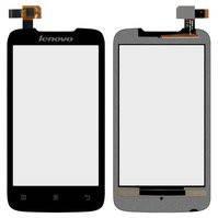 Сенсорный экран для мобильного телефона Lenovo A369i, черный
