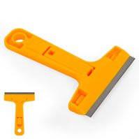 Cкребок для снятия клея K-501, лопатка, с лезвием