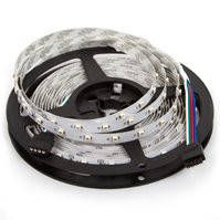 Светодиодная лента SMD3528 (RGB, 300 светодиодов, 12 В DC, 5 м, IP20)
