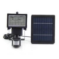 Уличный LED прожектор SL-60 (с солнечной панелью, с датчиком движения, 600 лм, 7,4 В, 2000 мАч)