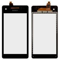 Сенсорный экран для мобильного телефона Sony LT25i Xperia V, черный