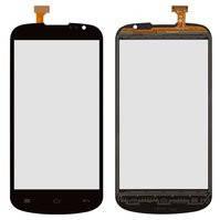 Сенсорный экран для мобильных телефонов TCL J620; Highscreen Alpha Rage; Gigabyte GSmart Aku A1, черный, #DJN-D501-V1.0 / 10045-0220A-00