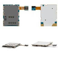 Коннектор SIM-карты для планшета Samsung N8000 Galaxy Note, со шлейфом