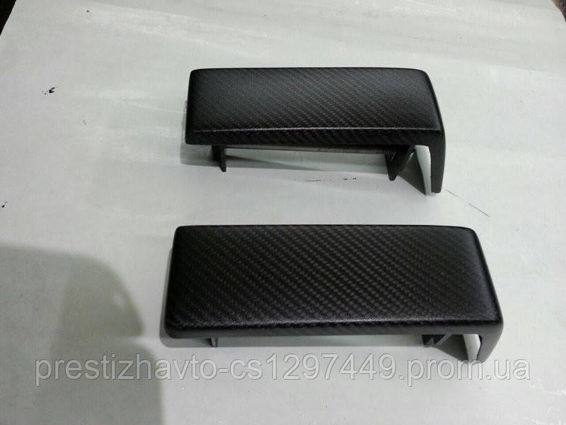 Карбоновые накладки переднего бампера Mercedes G-Сlass W463 AMG