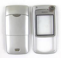 Корпус ААА Nokia 6680 (серебро)+русская клавиатура