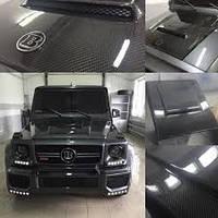 Карбоновая накладка на капот, воздухозаборник Mercedes G-Class