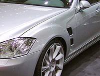 Mercedes S Class W221 Крылья Lorinser