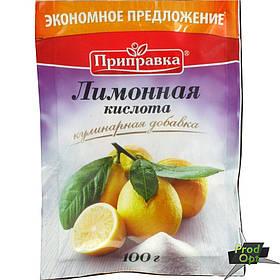 Приправка Лимонна кислота 100 г