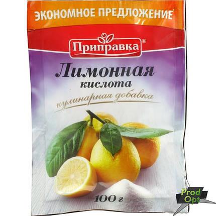 Приправка Лимонна кислота 100 г , фото 2
