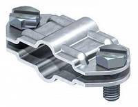 Разделительный зажим для круглых проводников d 8-10 мм и плоских проводников FL 30 мм из оцинкованной стали OB
