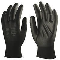 Перчатки из нейлона, покрытые полиуретаном, для точных работ