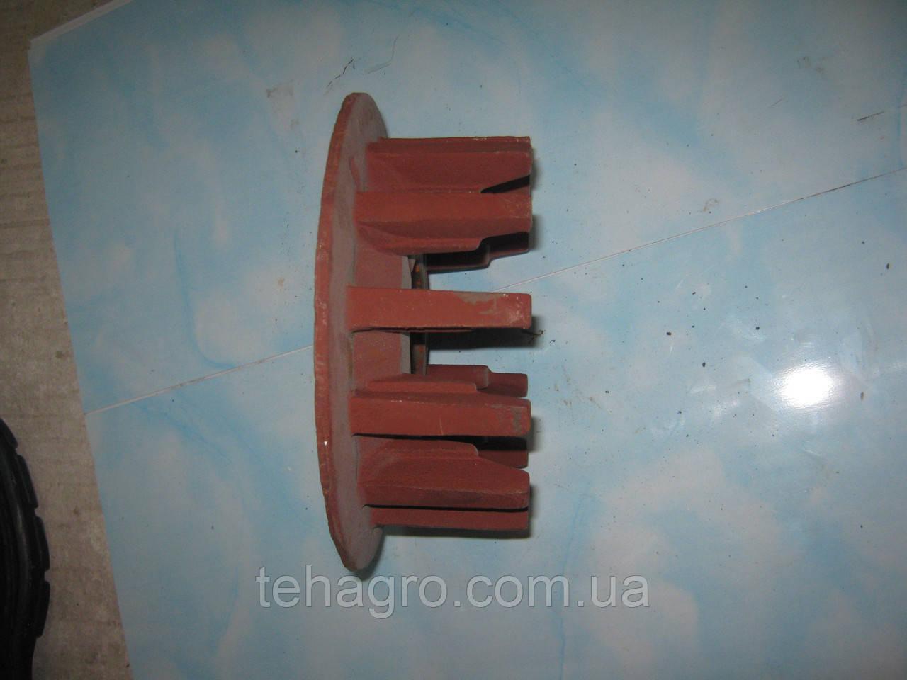 Шестерня транспортёра копателя (две половинки) Krukowiak. Шестерня привода транспортера. Приводная шестерня.
