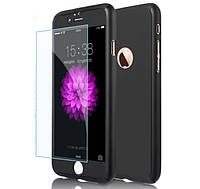 "Чехол Luxury 360 для Apple iPhone 7/7S 4.7"" - Black"