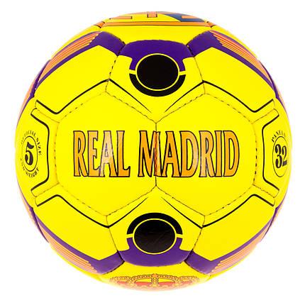М'яч футбол SemiDull Real Madrid YSD-302RM, фото 2