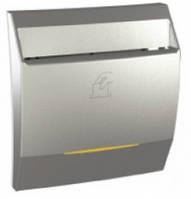 SСHNEIDER ELECTRIC UNICA Выключатель карточный с индикационной подсветкой 2 модуля 10А Алюминий