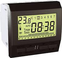 SСHNEIDER ELECTRIC UNICA Термостат цифровой программируемый для кондиционера или отопления 24 ч-7 д таймер Графит