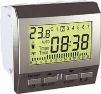 SСHNEIDER ELECTRIC UNICA Термостат цифровой программируемый для кондиционера или отопления 24 ч-7 д таймер Алюминий