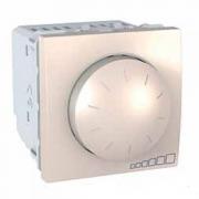 SСHNEIDER ELECTRIC UNICA Светорегулятор поворотно-нажимной для флуоресцентных ламп 1-10 В 400ВА Слоновая кость