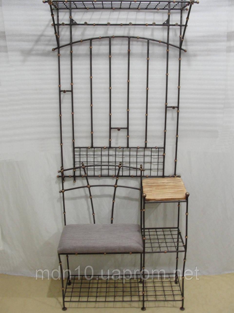 Кованый набор мебели в прихожую - 013