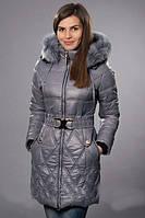 Зимняя молодежная куртка с мехом