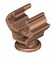 Универсальный держатель для круглых проводников d 8-10 мм, медного цвета OBO Bettermann