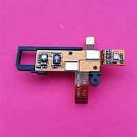 Fly iq255 шлейф динамика с датчиком приближения с компонентами б/у