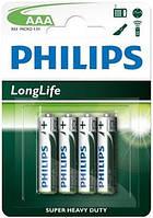 PHILIPS LONGLIFE R03-L4B 1X4 ШТ.