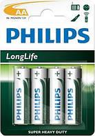 PHILIPS LONGLIFE R6-L4B 1X4 ШТ