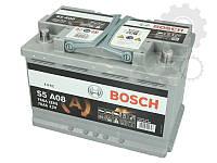 Аккумулятор Bosch  70Ah/760A AGM - 0 ah