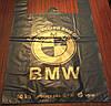 Пакет майка БМВ 40*60 черный ДПА